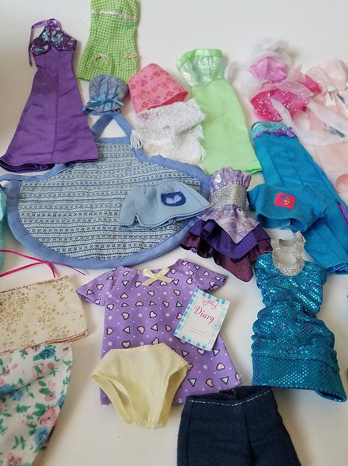 Barbie Clothes Lot