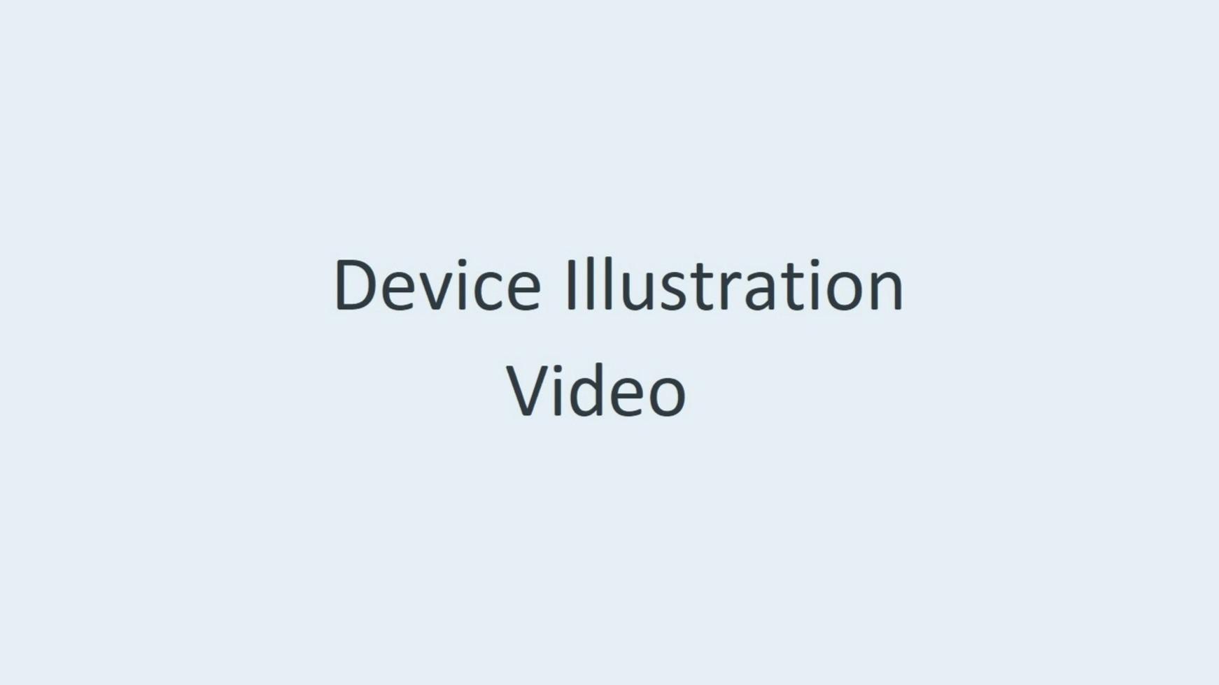 Device Illustration Video