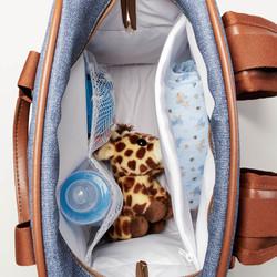 Mochila maternidade jeans chicago