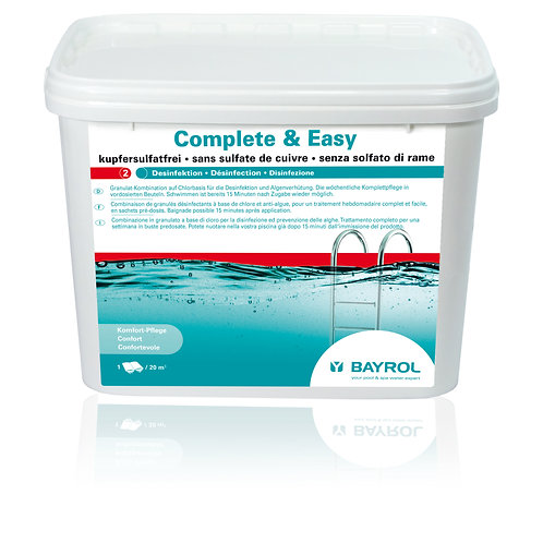 Complete & Easy 4,48 Kg