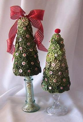 Easy Yo-Yo Christmas Tree