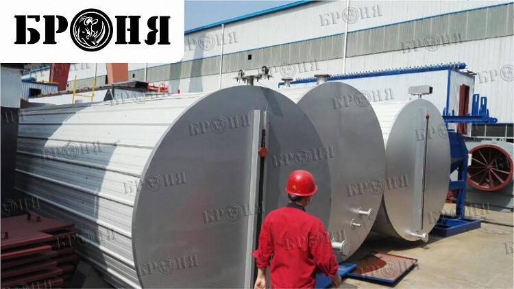 Китай. Тестирование и последующее промышленное применение теплоизоляции БРОНЯ Классик