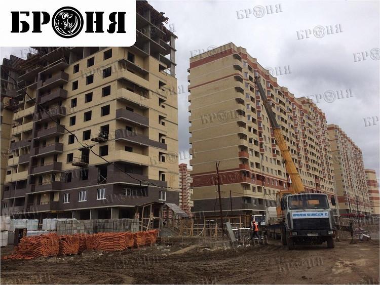 Применение теплоизоляции Броня Фасад при строительстве жилого дома Московская область поселок Знамя Октября