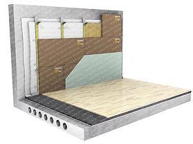стена метал каркас стандарт с соноплат.j