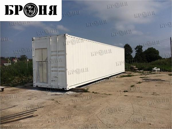 Шепилово Московской области Броня Классик при утеплении 40-футового контейнера для птицефабрики