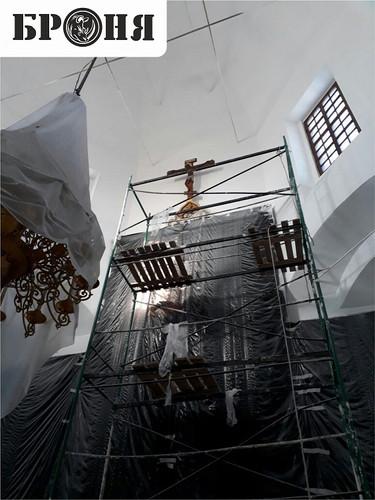 Волгоград, Храм Иоанна Предтечи внутренняя теплоизоляция БРОНЯ Фасад