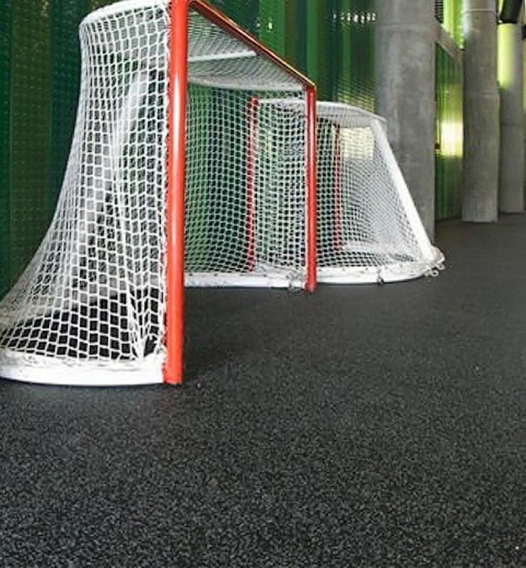 спортивный зал с резипол