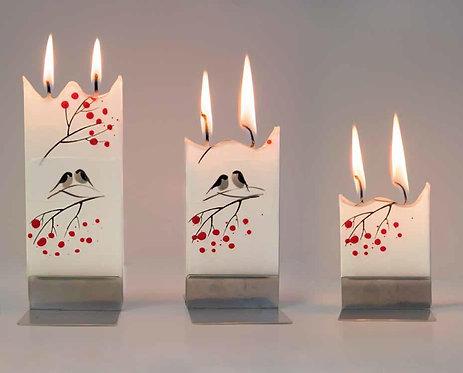 Amazing Handmade Flat Candles