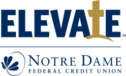 Notre Dame Federal Credit Union Elevate Logo