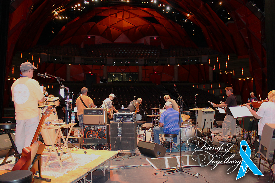 Friends of Fogelberg V Sound Check