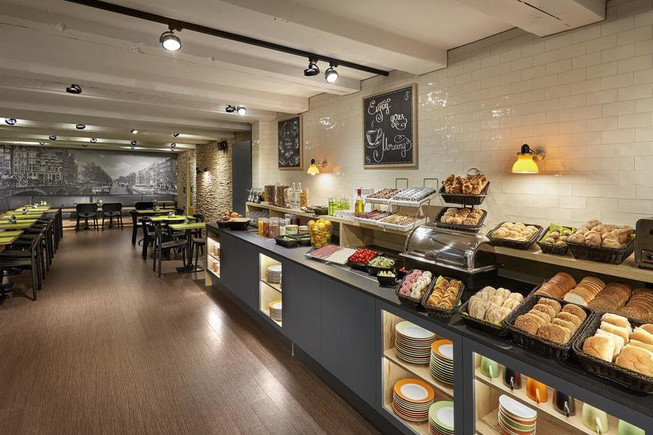 TMWRK Nova Hotel Amsterdam foto restaurant