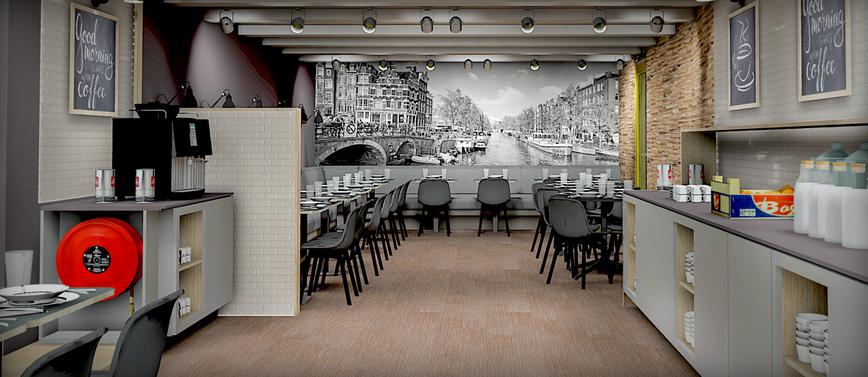 TMWRK Nova Hotel Amsterdam visual restaurant 2