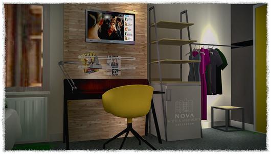 TMWRK Nova Hotel Amsterdam visual kamer