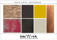 TMWRK Nova Hotel Amsterdam moodboard