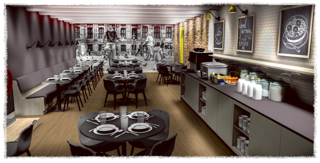 TMWRK Nova Hotel Amsterdam visual restaurant