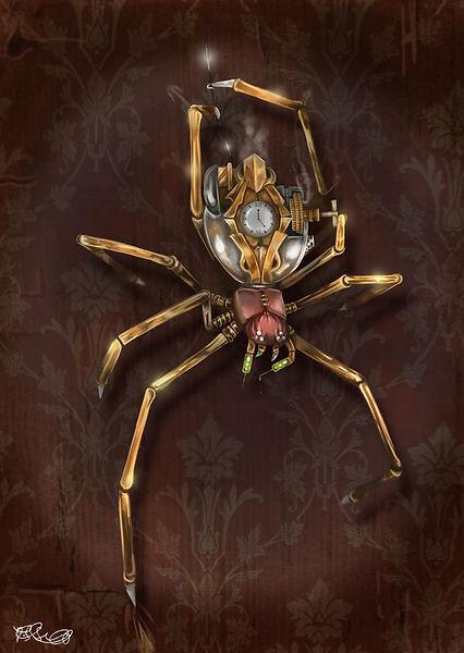 0127. Clockwork Spider - Danyon Street.j