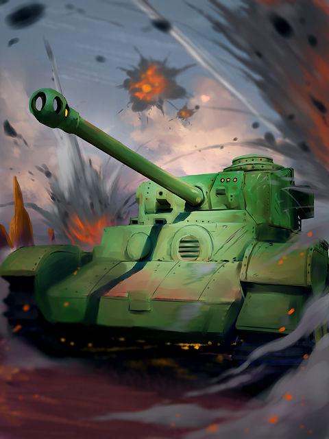 0014. Moore Mk. 1 Medium Tank (Vehicle)