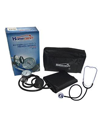 Kit de baumanómetro con estetoscopio Homecare
