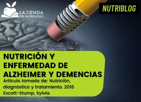 Nutrición y enfermedad de Alzheimer y demencias