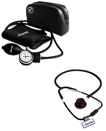 Kit de baumanómetro con estetoscopio POP (doble campana)