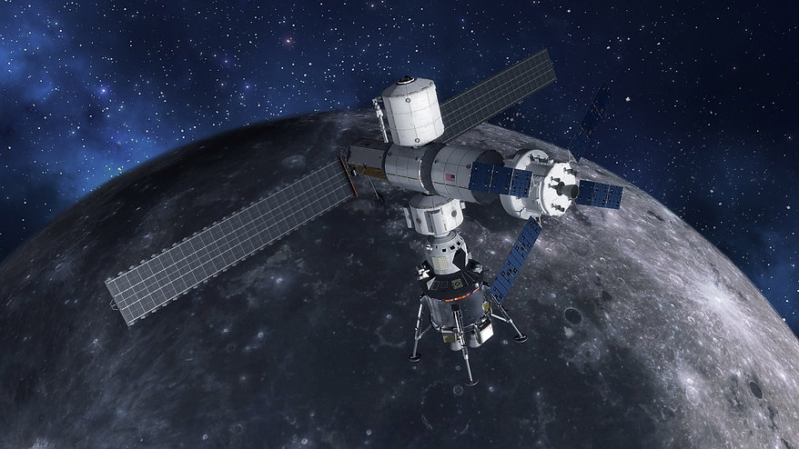 crewed-lunar-lander-at-gateway_441671855