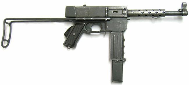 МАТ-49 — французский пистолет-пулемёт, использовавшийся в атаке.