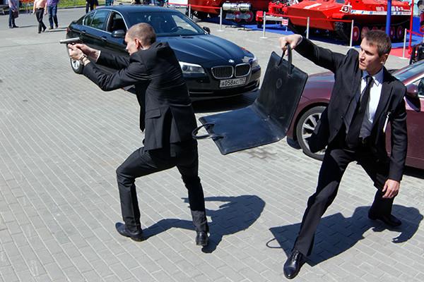 Тактика телохранителя