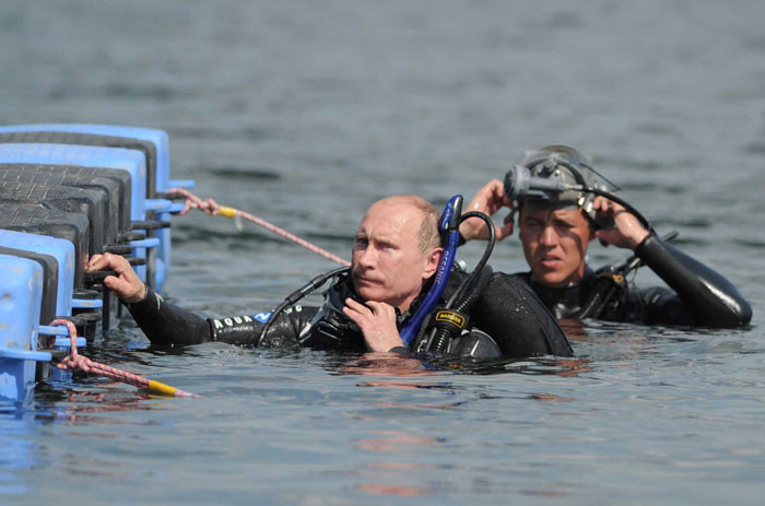 Охрана Путина