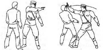 Удар пистолетом