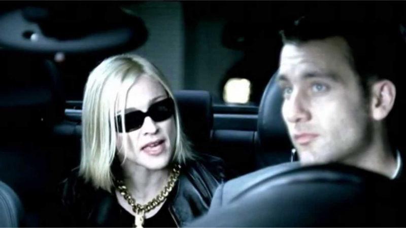 Мадонна и водитель
