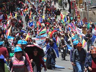 Unidad Popular rechaza Golpe en Bolivia
