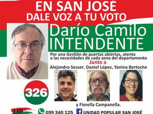 San José con Darío Camilo