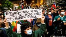 UP saluda victoria del pueblo chileno