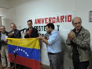 Unidad Popular exige respeto a la autodeterminación en Venezuela