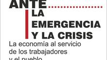 Documento: Ante la emergencia y la crisis