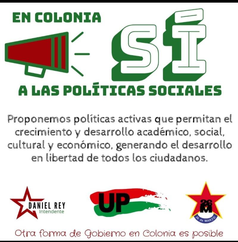 Colonia Políticas sociales