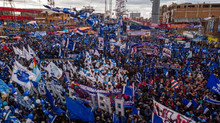 Gran victoria popular en Bolivia
