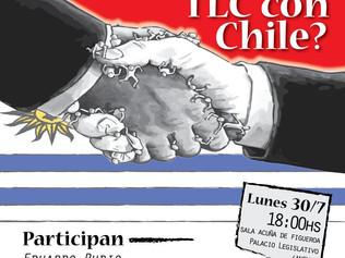 Este lunes 30, Panel sobre TLC con Chile