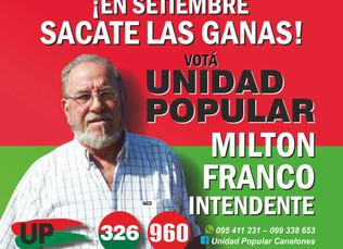 Listas de Unidad Popular en Canelones