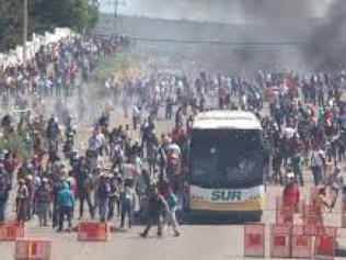 Solidaridad con la lucha popular en México