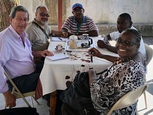 Diputado Eduardo Rubio retornó de Haití