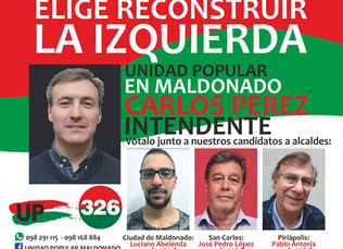 Maldonado con Carlos Pérez