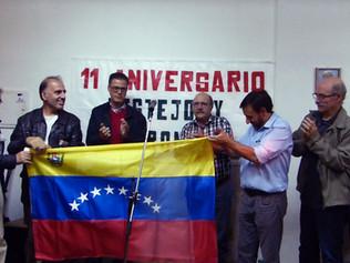 Homenaje a Delia Villalba y solidaridad con Venezuela en acto aniversario de UP