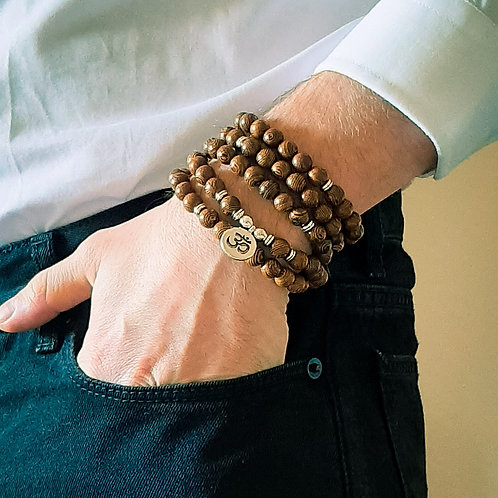 Aum Wooden Beads