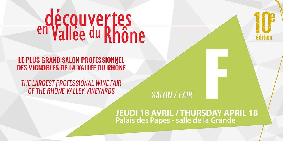 Découvertes en Vallée du Rhône (Salon F)