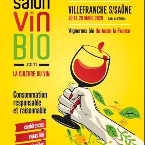 Salon du Vin Bio à Lyon 2ème