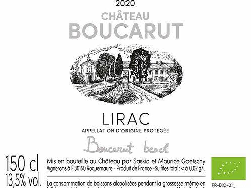 Lirac rosé 2020 Magnum Boucarut Beach