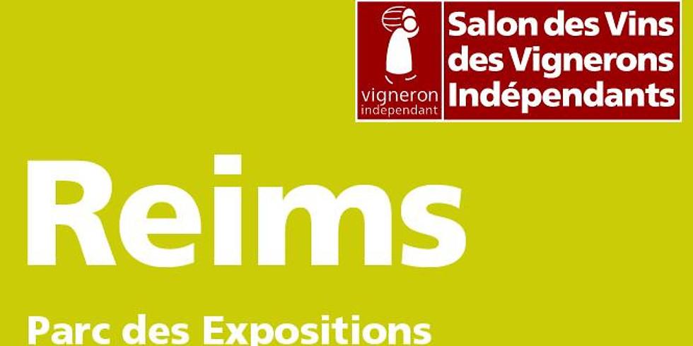 26ème Salon des Vignerons Indépendants - Reims - Stand I4