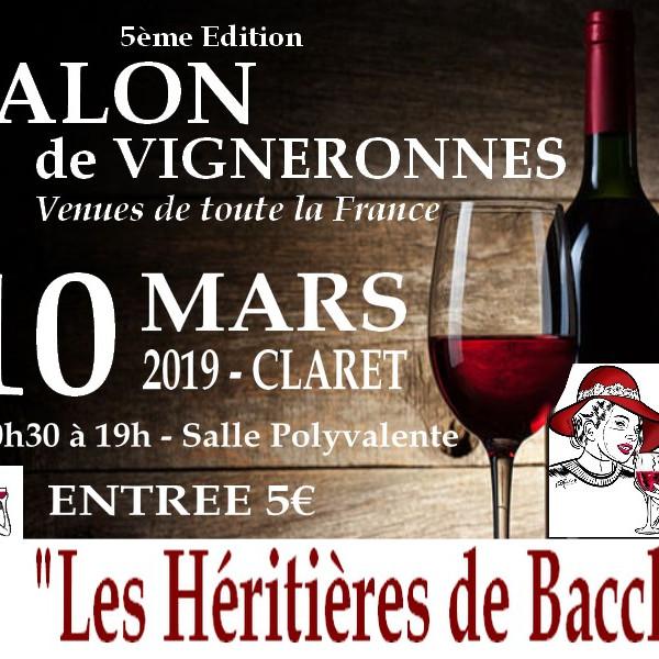 """Salon de Vigneronnes """"Les Héritières de Bacchus"""""""