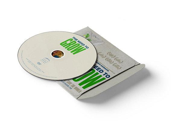 The Need To GROW DVD